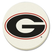 NCAA Georgia Bulldogs Absorbent Coaster - Pack Of 4