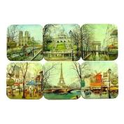 Souvenirs of France - 6 x Paris Coasters
