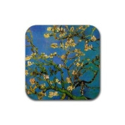 Blossoming Almond Tree By Vincent Van Gogh Square Coasters