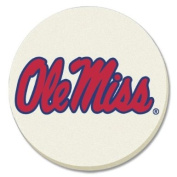 NCAA Ole Miss Rebels Absorbent Coaster - Pack Of 4