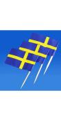 Sweden Flag Toothpicks - 50 Pk.