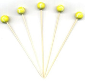 12.1cm - Tennis Party Appetiser Toothpicks / Swizzle Sticks - 100ct