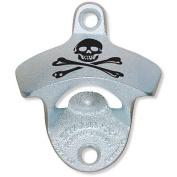 Skull and Cross Bones Wall Mounted Classic Zinc Starr X Bottle Opener