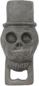 HomArt Cast Iron Jose Skull Bottle Opener, Natural