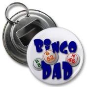 BINGO DAD 5.7cm Button Style Bottle Opener