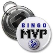 BINGO MVP 5.7cm Button Style Bottle Opener