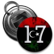FEBRUARY 17 LIBYA FREEDOM Politics 5.7cm Button Style Bottle Opener