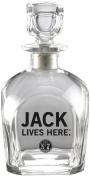 Jack Daniel's Licenced Barware Jack Lives Here Decanter
