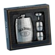 Jack Daniel.s Barrel Flask/Gift Set