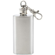 2 Oz Flask/ Stainless Steel/keychain Flask