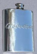 Graduation Fine English Pewter Flask
