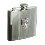 Hip Flask 180ml with Scotland Badge