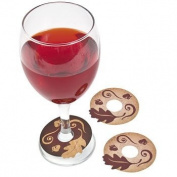 Thanksgiving Turkey Wine Tags - Tableware & Party Glasses