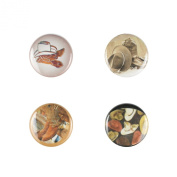 Il Bere Wine and Drink Charms Mens Collection, Boots and Hats