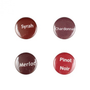 Il Bere Wine and Drink Charms Wine Collection, Warm Reds