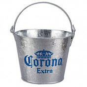 Corona Extra Galvanised Beer Bucket