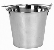 NEW 12.3l. (Quart) Heavy-Duty Water Bucket, Ice Bucket Utility Bucket - Stainless Steel