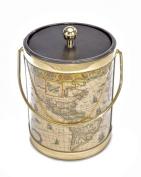 Mr. Ice Bucket 590-2 Map Ice Ice Bucket, 4.7l