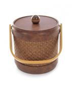Mr. Ice Bucket 467-1 Wicker Acorn Ice Bucket, 2.8l
