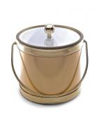 Mr. Ice Bucket 559-1 Brushed Gold Ice Bucket, 2.8l