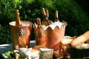 Lionshead Copper Champagne Bucket