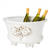 Tuscany Collection Grape Oval Tub with Feet