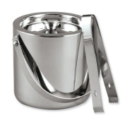 Stainless Steel 1.4l Ice Bucket w/Tongs