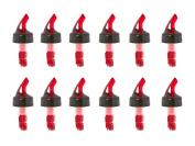 Measured Bottle Pourer - Auto-measuring 1 Oz (30 Ml) - Set of 12