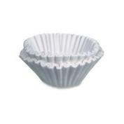 Bunn-O-Matic Corporation : Coffee filters , 2-1.9cm x7.6cm , 100/PK, White -:- Sold as 2 Packs of - 100 - / - Total of 200 Each