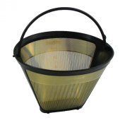 Frieling #4 Cone Coffee filter , 23 karat gold plated