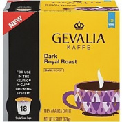 Gevalia Dark - Royal Roast - Coffee K Cups 108 ct