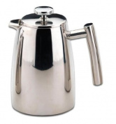 Grunwerg Belmont Double Wall Stainless Steel Cafetiere 8 Cup