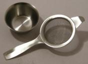 Tea strainer single Handle s/s guarnteed quality