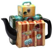 Appletree Design Road Trip Luggage Teapot, 14cm