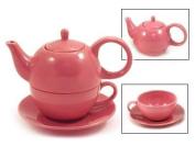Tea for One Desert Rose Gloss Finish - EnglishTeaStore Brand