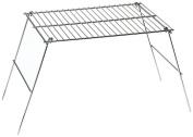 Rome's #128 27.9cm x 40.6cm Pioneer Camp Grill, Chrome Plated Steel