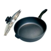 Swiss Diamond Induction Nonstick Saute Pan with Lid - 3l