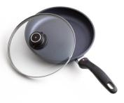 Swiss Diamond 26cm Open Fry Pan with Lid