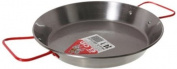 Garcima 9-1/2-Inch Carbon Steel Paella Pan, 24cm