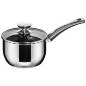 Berndes Injoy Induction 3.1l 3.1l Sauce Pan 18/10 Stainless Steel Saucepan with Glass Lid