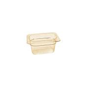 Cambro Amber 1/9 Size High Heat H-Pan 10.2cm H