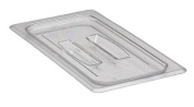 Cambro Clear Camwear 1/3 Size Food Pan Cover w/ Handle
