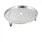 Kitchen Cooking Stainless Steel 21cm Diameter Steaming Steamer Rack
