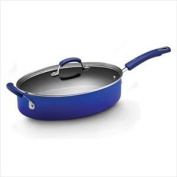 Quality 4.7l. Covered Saute Pan - Porcelain Enamel (Blue) By Rachael Ray