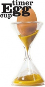 Suck UK Egg Cup / Borosilicate glass Egg Timer