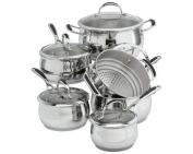 Lagostina - Padova 11 Pc Stainless Steel Cookware Set