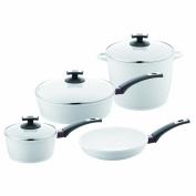 Berndes 697700 EcoFit Pearl Ceramic Coated Cast Aluminium 7-Piece Cookware Set