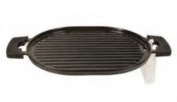 Nuwave Precision Induction Cast Iron Grill With Oil Drip Tra