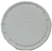 Leaktite #1GLD Gallon White Plastic Pail Lid