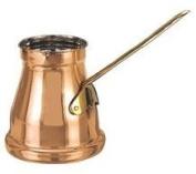 Old Dutch Decor Factory 2nd Copper Turkish Coffee Pot / Butter Warmer, 1.5 Pint